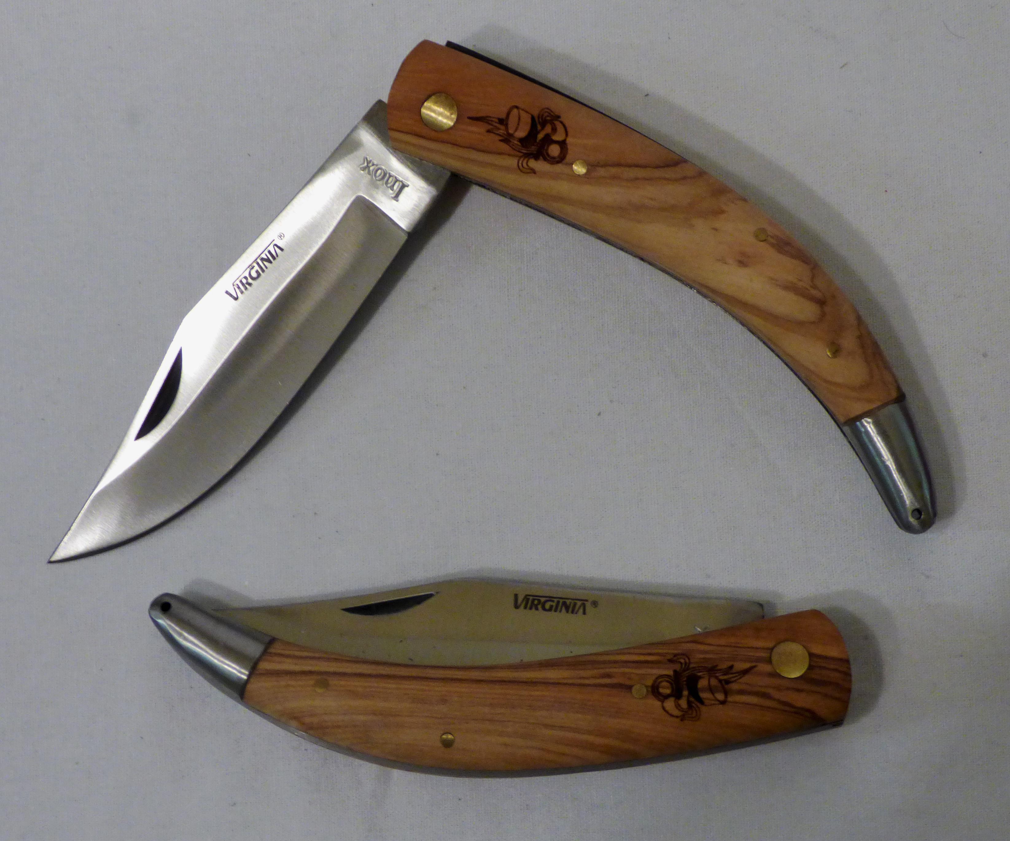datation Remington couteaux de poche